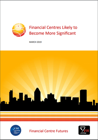 Financial Centres Likely To Become  More Significant
